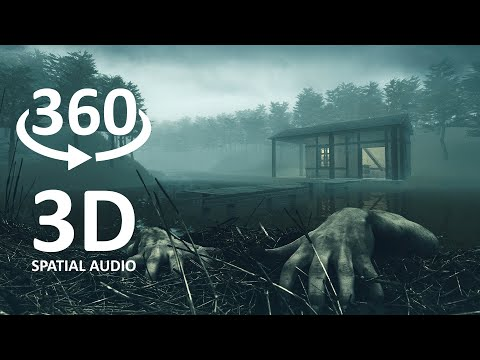 360 VR Horror: Death Lake [Real 3D Spatial Sound - 4K]