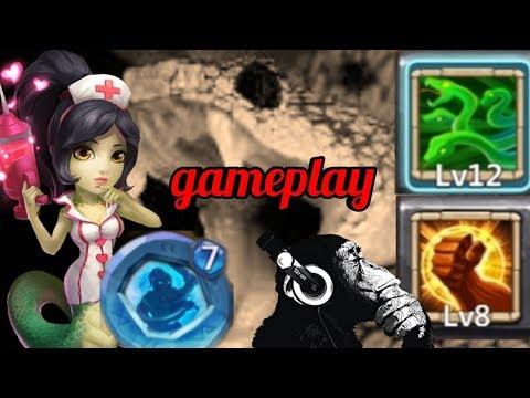 Medusa | Brute Force | Gameplay | Castle Clash