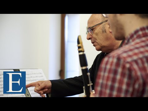 Masterclass Michel Arrignon Clarinet Rabaud Solo de concours