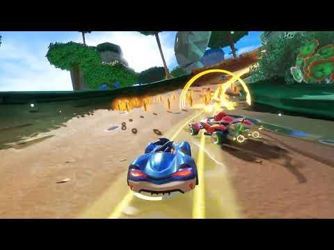 Team Sonic Racing se muestra en un gameplay