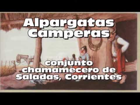 CHAMAMÉ CORRENTINO - Alpargatas Camperas-disco entero-