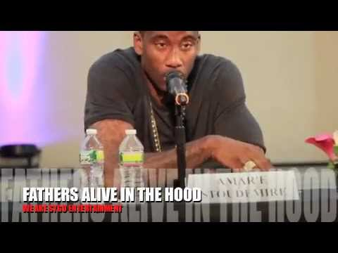 Fathers Alive In The Hood-  Etan Thomas presents a Celebrity Panel Discussion on FATHERHOOD