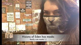 Super Cute Animal Masks at Visions of Eden!