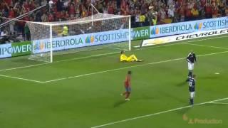Spain vs Scotland 3-1 2011 | UEFA Euro 2012 Qualifiers | [HD]