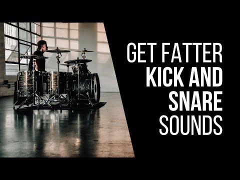 How To Get Fatter Kick And Snare Sounds In Your Mix – RecordingRevolution.com
