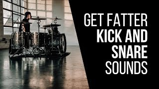 How To Get Fatter Kick And Snare Sounds In Your Mix - RecordingRevolution.com