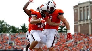 Illinois Football Extended Highlights vs. Youngstown State 8/30/14