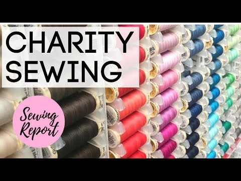 HURRICANE HARVEY RELIEF - HOW TO HELP | Sewing for Charity | LIVE SHOW | SEWING REPORT