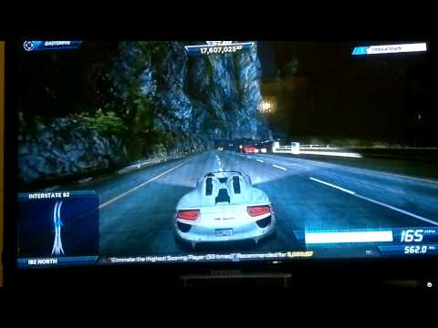Need For Speed Most Wanted - Canyon Billboard Challenge...Accepted!