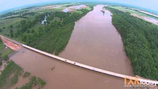 Red River Flooding Pecan Point