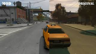 2018 | GTA IV graphics mod for LOW PC - takes no fps !! | Miskoy