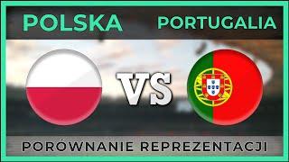 POLSKA - PORTUGALIA ⚽ Porównanie reprezentacji ⚽ 11.10.2018 [ZESTAWIENIE]