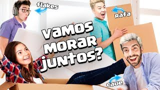 Video VOU MORAR COM O FLAKES, RAFA E CAUE? #RESPONDECAJU download MP3, 3GP, MP4, WEBM, AVI, FLV Oktober 2017