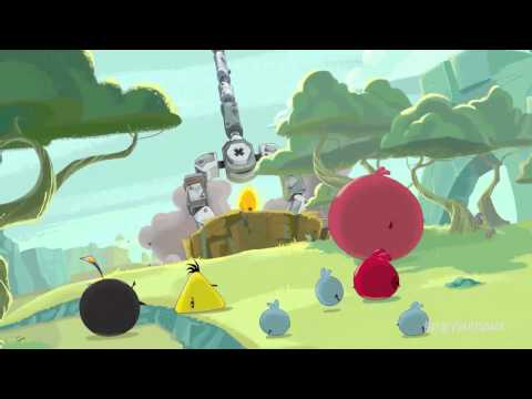 Angry Birds Space Theme Song (Music Video)