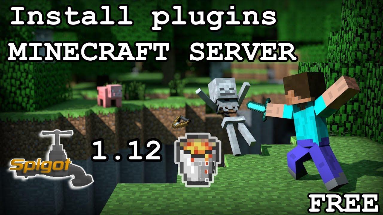 How to install plugins on a minecraft server bukkit spigot 1 11 2 | 1 12  [FREE] [2017]