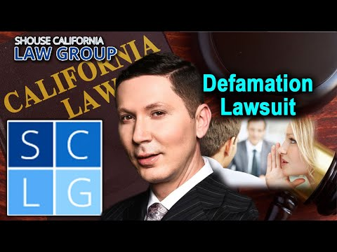 "Defamation in California – ""When can I sue someone for it?"""