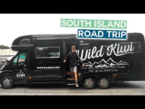 NEW ZEALAND SOUTH ISLAND ROAD TRIP | Christchurch to Franz Josef | Wild Kiwi
