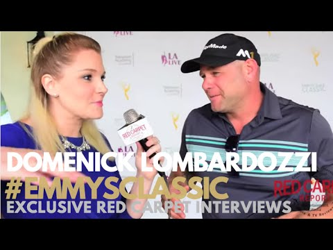 Domenick Lombardozzi #Rosewood at the 17th Annual Emmys Golf Classic #EmmysClassic