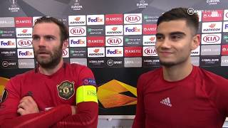 Juan Mata heaps praise on Mason Greenwood after his brace against AZ Alkmaar