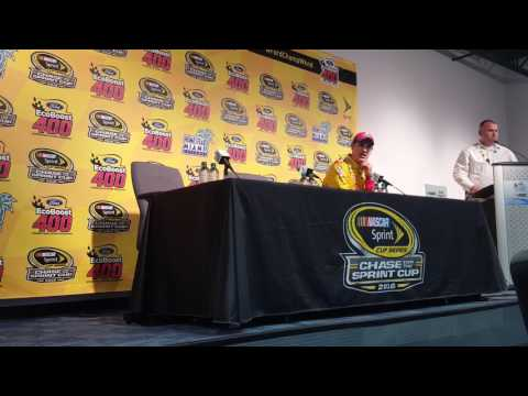 Joey Logano on Carl Edwards incident at Homestead