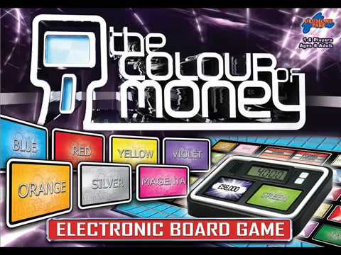 The Colour Of Money: Electronic Board Game (Timer)