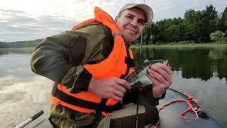 Рыбалка на водохранилище 25 07 2021