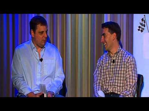 On TechCrunch and Startups Michael Arrington and Glenn Kelman - Starter Day 2010