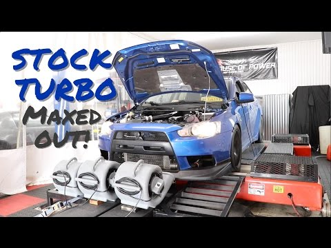 A Day at House of Power - EVO Maxed out stock turbo on Dyno