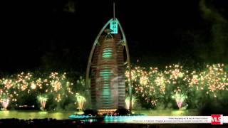 Mapping 3D à Dubaï 43rd National Day Burj Al Arab 2014