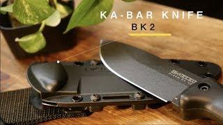 Video キャンプ用ナイフはこれにした【KA-BAR BK2】 download MP3, 3GP, MP4, WEBM, AVI, FLV Oktober 2018