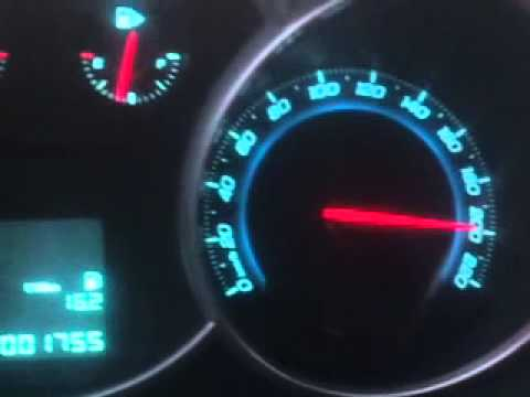Chevrolet Cruze 2.0VCDI 100-Topspeed im 6ten Gang - YouTube