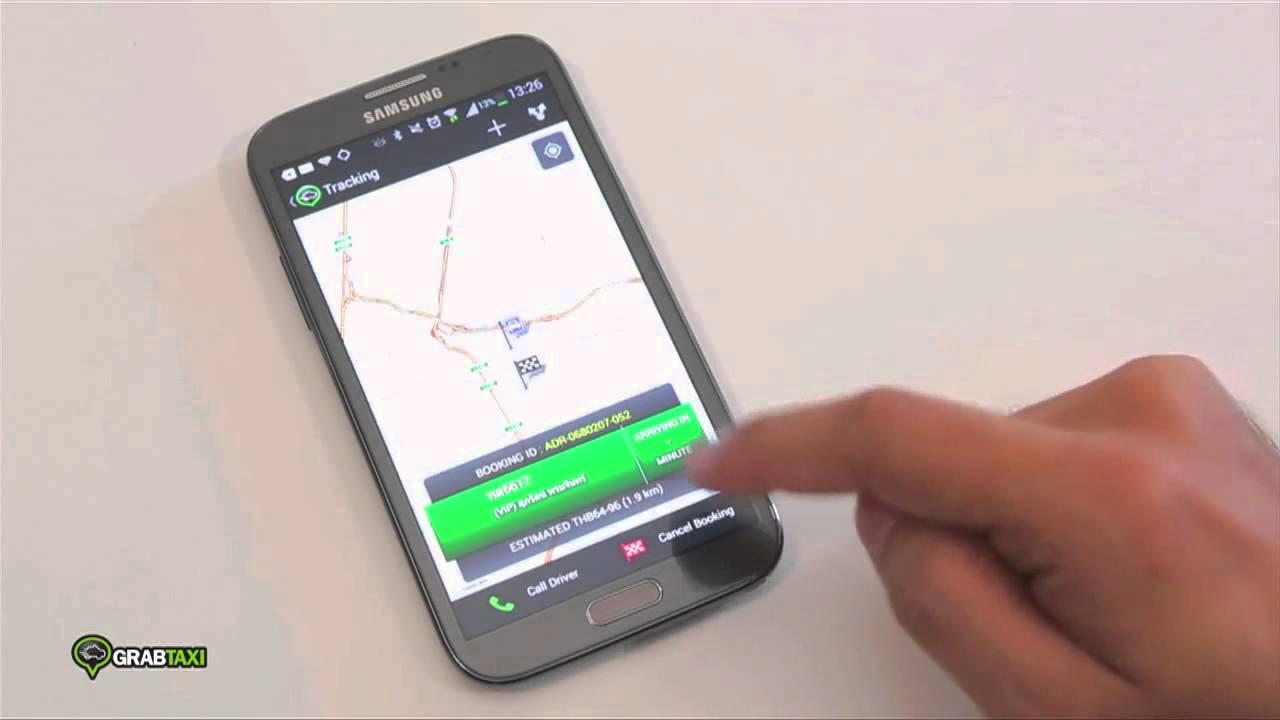 Digital Master – เรียกเเท็กซี่ทันใจกับ GRAB TAXI