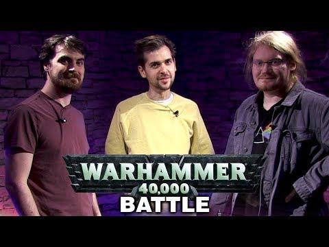 Warhammer 40,000 Battle w/ Lewis, Duncan and Ben! #1