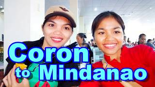 Traveling from Coron Palawan to Mindanao Philippines