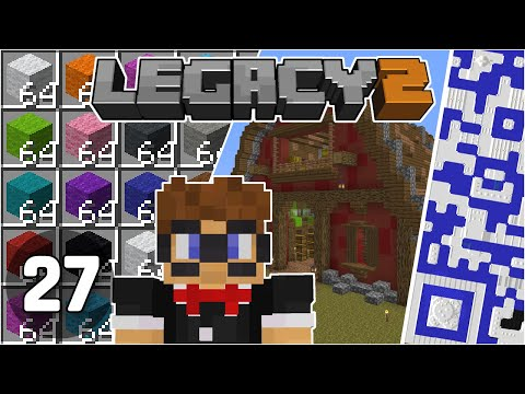 Quantum Reef Code Revealed & New Sheep Farm Barn - Legacy SMP 2: #27 | Minecraft 1.16 Multiplayer