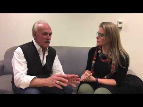 """The Play"" Rocky Bleier Interview with Pgh CW Green Team"