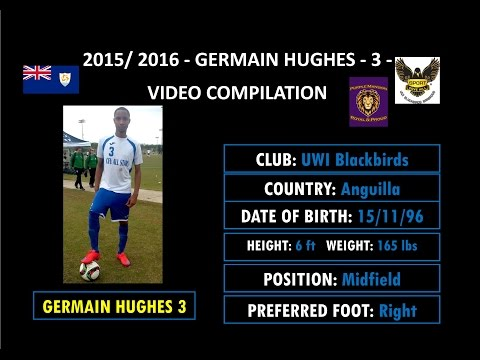 Germain Hughes - 3 - Video Compilation - 2015/2016 - Skills, Passes, Goals, Defensive Plays