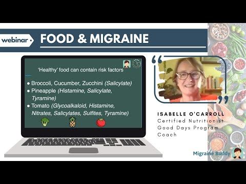 Food and Migraine Webinar (3 July)