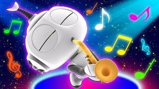 Cartoon   Rob The Robot - Robot Band   Cartoons For Kids   Oddbods & Friends