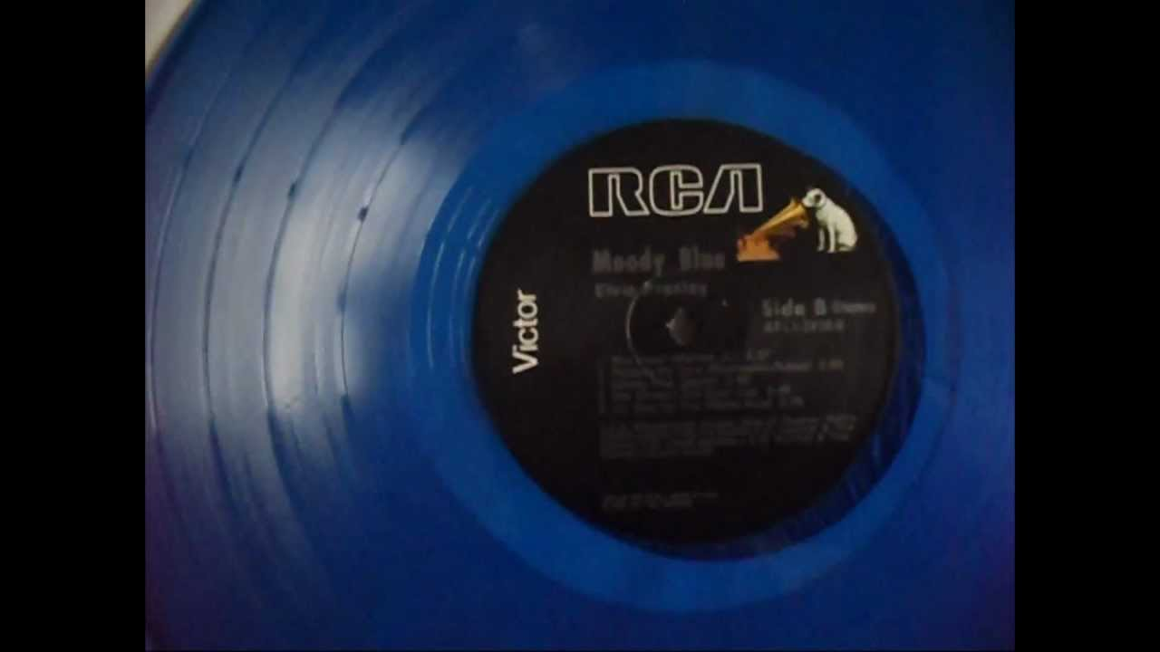 Record Collector Moody Blue Blue Vinyl Wauw It S