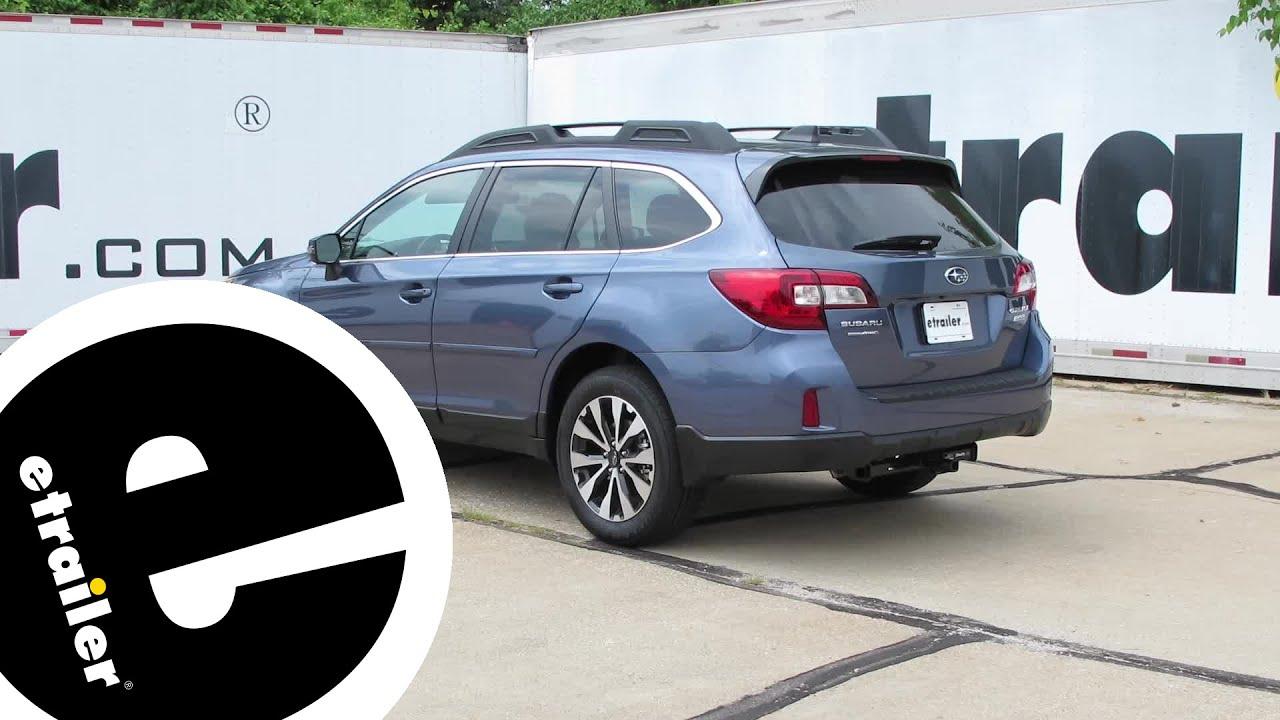 Install Trailer Hitch 2017 Subaru Outback Wagon 36493 Etrailer