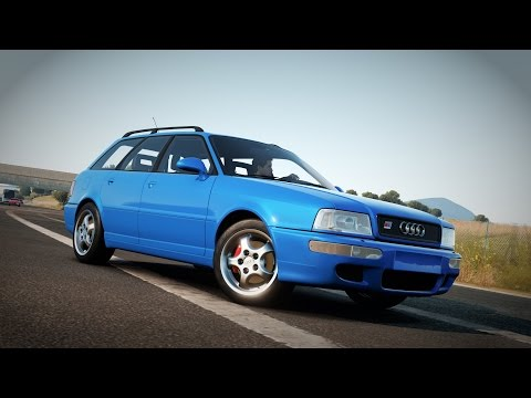 Forza Horizon 2 - 1995 Audi RS2 Avant Gameplay