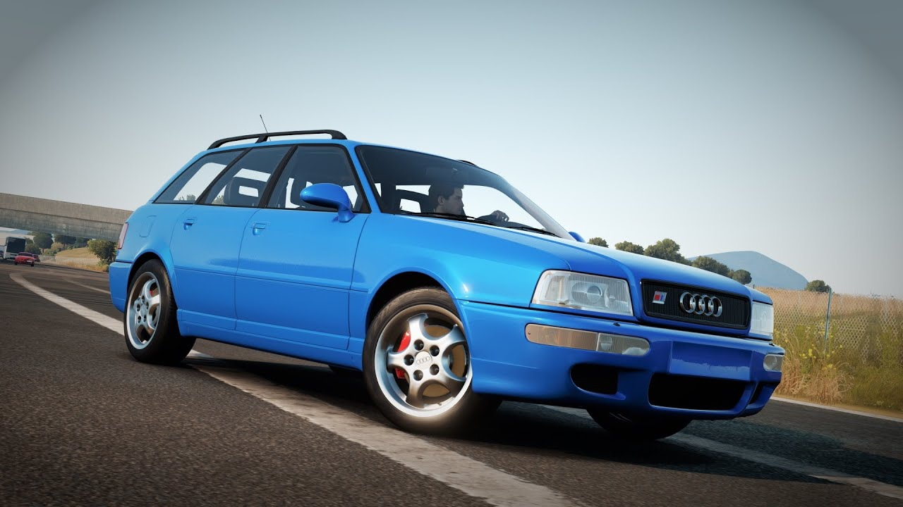Forza Horizon 2 1995 Audi Rs2 Avant Gameplay Youtube