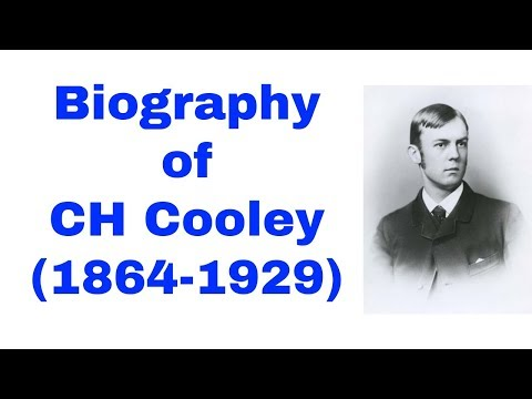 CH Cooley Biography In Hindi | Life Of Charles Horton Cooley | Sociology