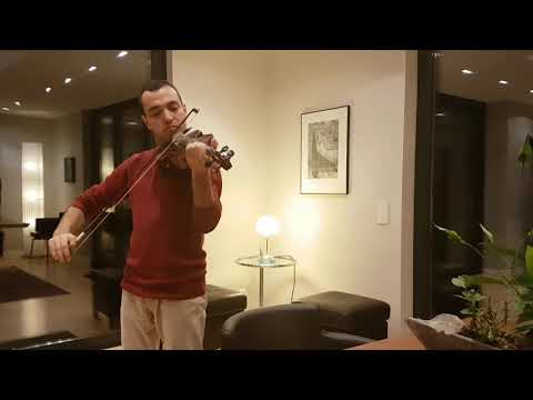 Once upon a December in Violin, Khan