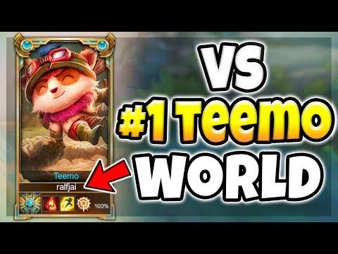 PROFESSOR AKALI VS #1 TEEMO WORLD! (HUGE AKALI COUNTER) Ivan Pavlov - League of Legends