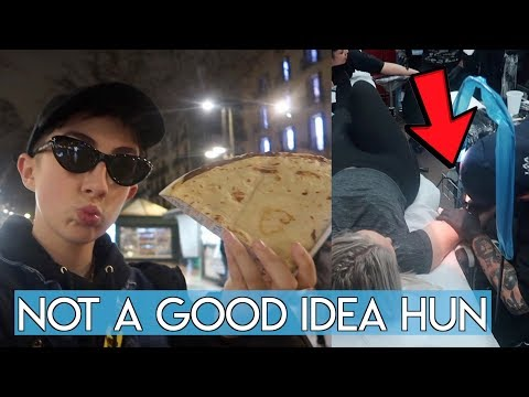 Weirdest 48 Hours in Barcelona (and we got tattoos!)