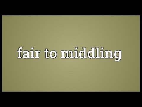 Header of middling