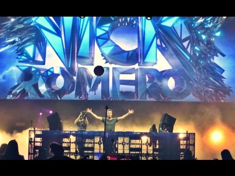 Nicky Romero - Toulouse - Lollapalooza Chile 2015 (FULL HD)