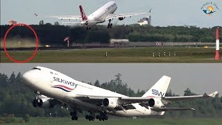 GREAT Planespotting Compilation 2019 with TOUCH & GOs and GO AROUNDs
